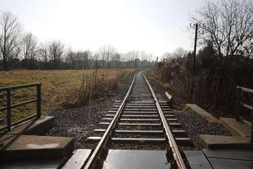Train Rail Railway Transport