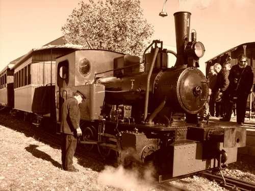 Train Arganda Steam