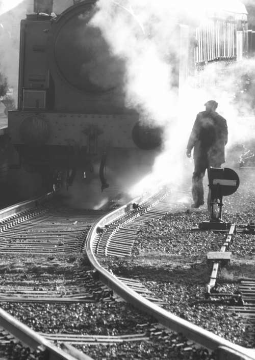 Train Steam Locomotive Railway Transportation