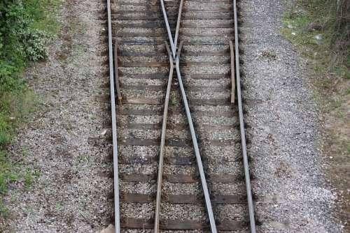 Train Tracks Train Tracks Junction Train Junction