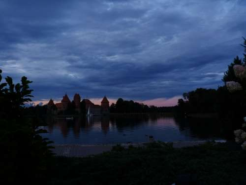 Trakai Lithuania Castle Lake
