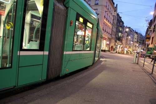 Tram Traffic Public Means Of Transport