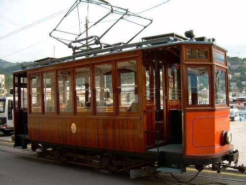 Tramway Vehicle Transportation Tram Streetcar