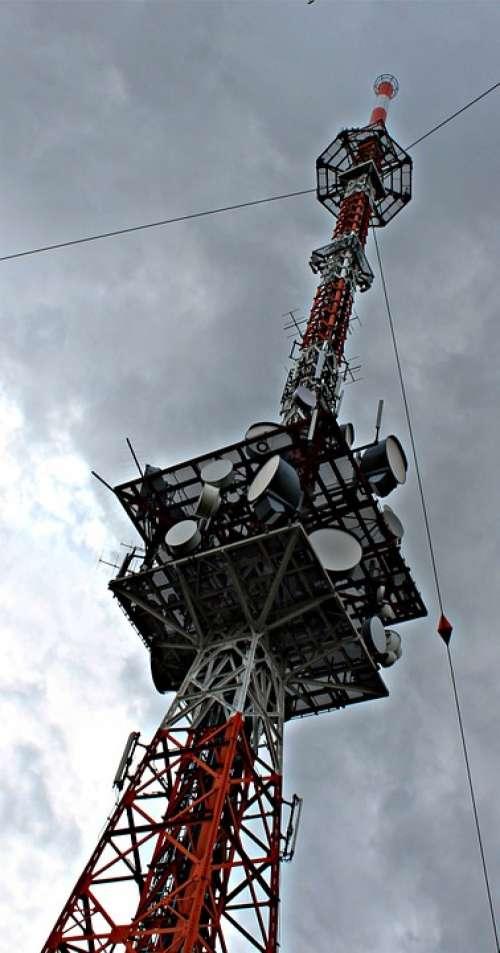 Transmission Tower High Radio Tower Tower Antennas