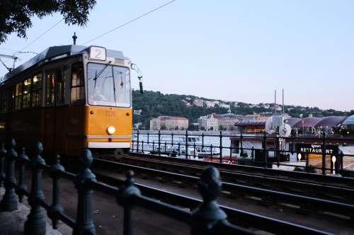 Transport Vehicle Tram Budapest