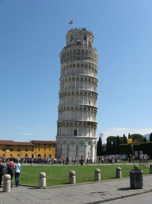 Travel Vacations Leaning Tower Pisa