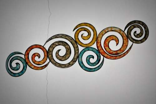Tribal Work Of Art Circles