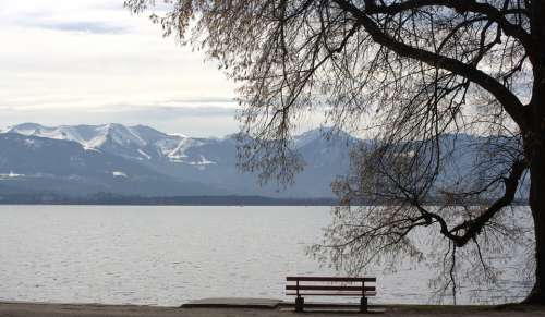 Tristesse Lake Constance View Bank Lake View
