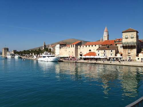 Trogir Sea Cityscape