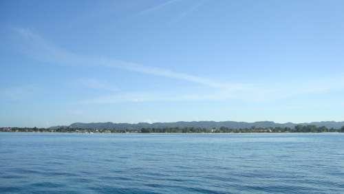 Tropical Vacation Travel Ocean Shoreline
