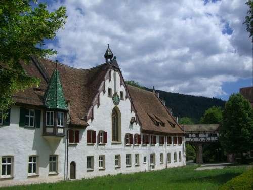 Truss Monastery Fachwerkhaus Blaubeuren