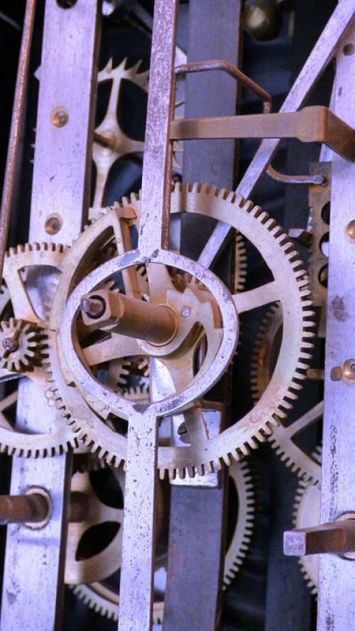 Trybko The Mechanism Of Gear Mechanics Clock Watch