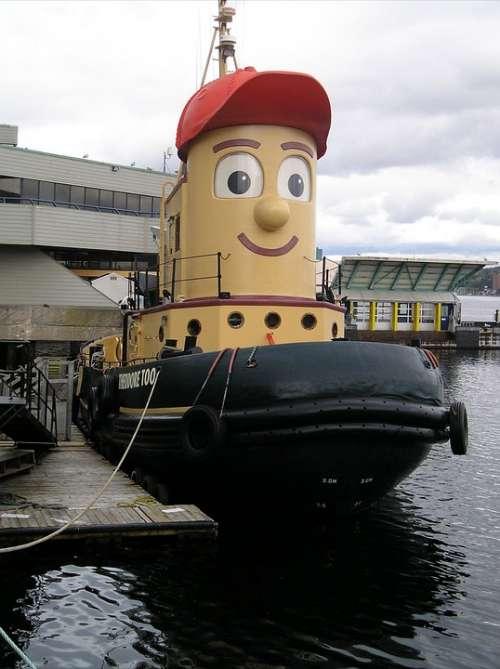 Tug Boat Tugs Theodore Tugboat Nova Scotia Canada