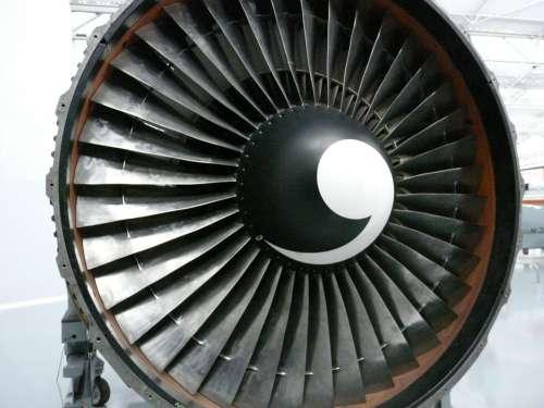 Turbine Motor Plane
