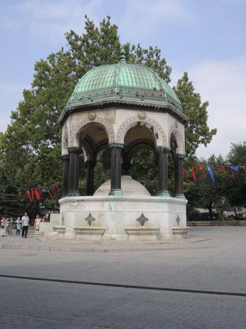 Turkey Istanbul Mosque Monument Faith Muslim