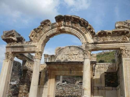 Turkey Ephesus Antiquity Celsus Library Ruins