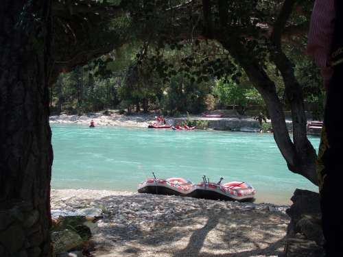 Turkey Rafting Kayak Summer