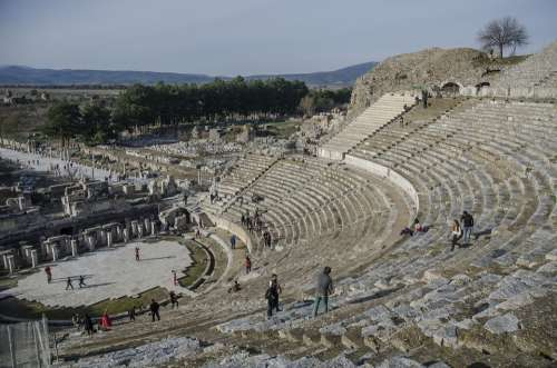 Turkey Ephesus Stage