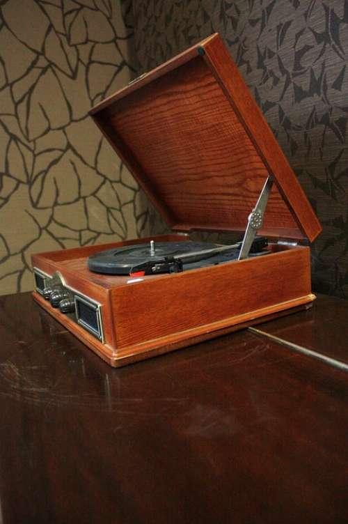 Turntable Music Sound Tracks Vinyl Vintage Old