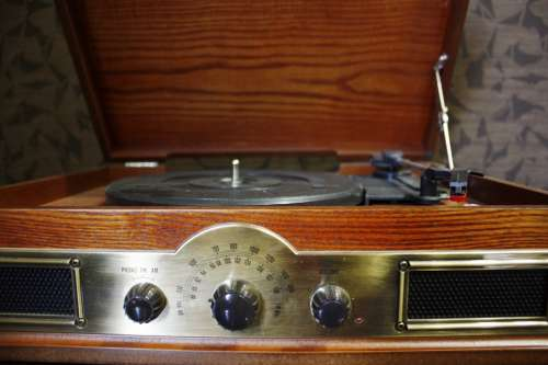Turntable Housing Turntable Old Music Vinyl