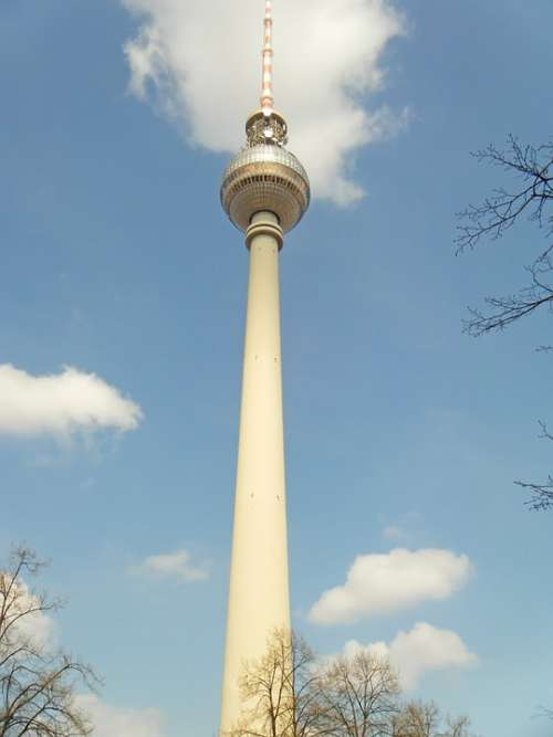 Tv Tower Berlin Germany Tour Tourism