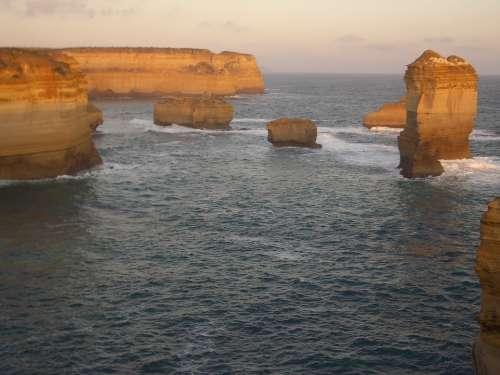 Twelve Apostles Australia Great Ocean Road Sea