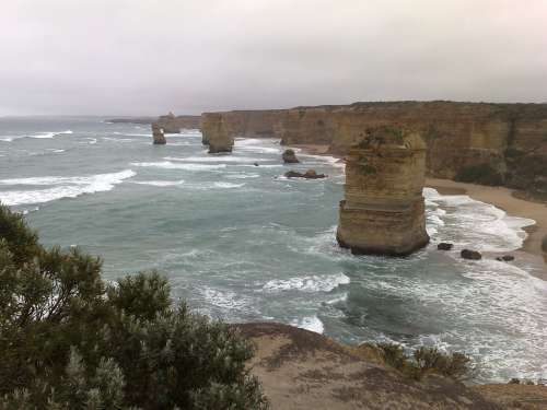 Twelve Apostles Australia Great Ocean Road Coast
