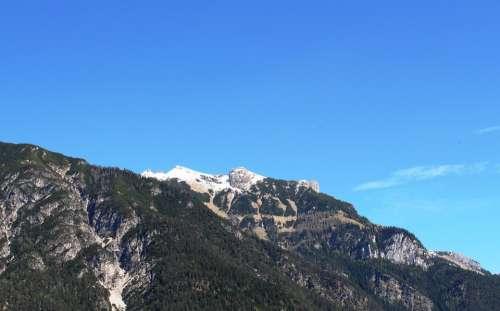 Tyrolean Alps Tyrol Alpine Mountains Austria