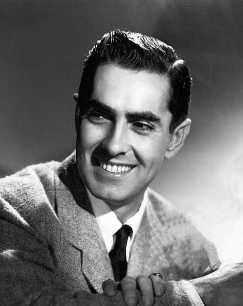Tyrone Power Actor Stage Motion Pictures