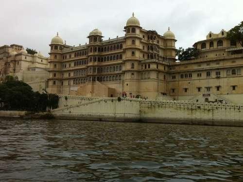 Udaipur India Palaces