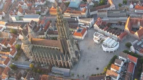 Ulm Münster Dom Tower Ulm Cathedral Building