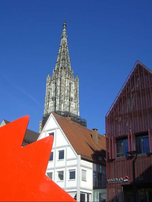 Ulm Cathedral Bowever New Road Architecture Tower