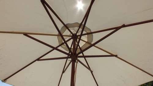 Umbrella White Sun