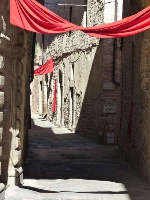 Umbria Spello August Ancient Tuscany