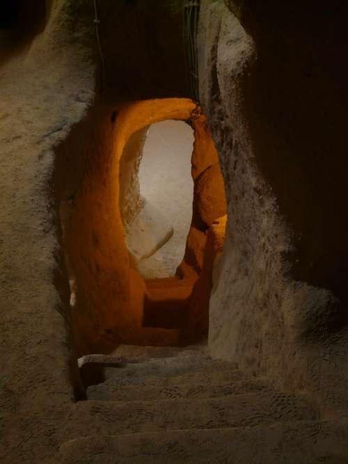 Underground City Turkey Underground Cappadocia