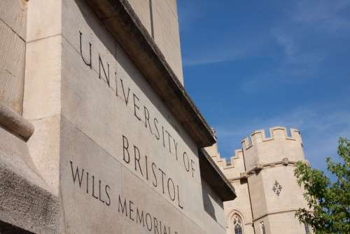 University Bristol Shield Tower Historically