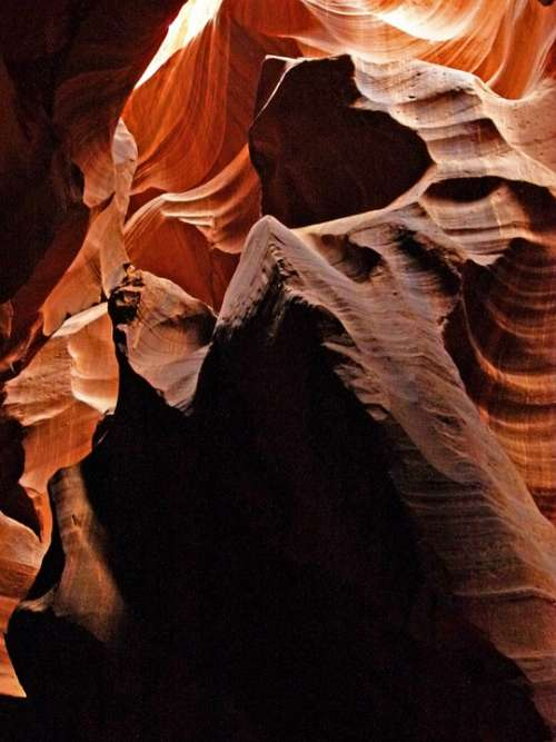Upper Antelope Slot Canyon Page Arizona Usa Desert
