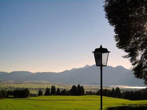 Upper Bavaria Bavaria Kreutalm Kochelsee Alpine