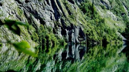 Upper Lake Königssee Reflection Of Berchtesgaden