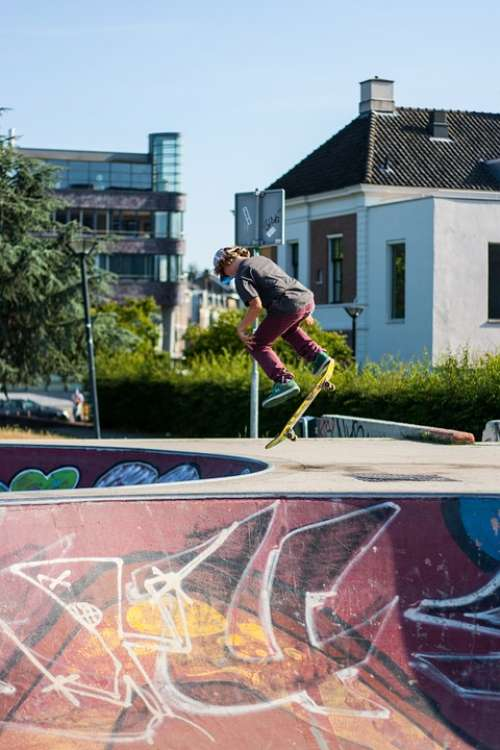Urban Utrecht Skate Skate Park Skateboard