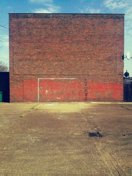 Urban Street Wall Football Sport Architecture