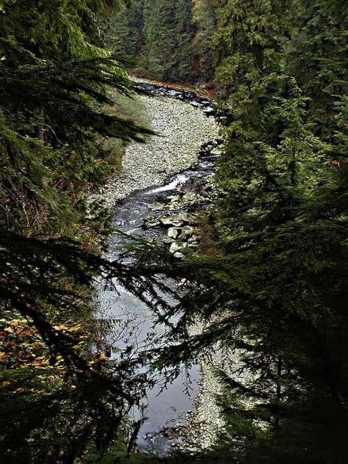Vancouver British Columbia Canada Capilano River