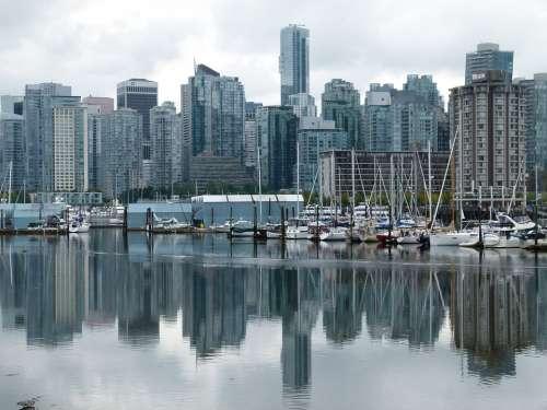 Vancouver City British Columbia Canada Water