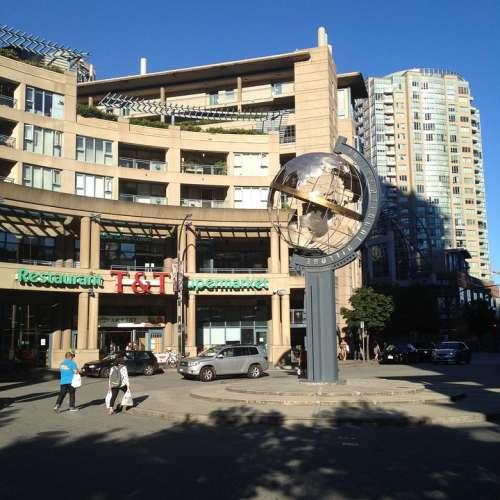 Vancouver British Columbia Canada Street Building