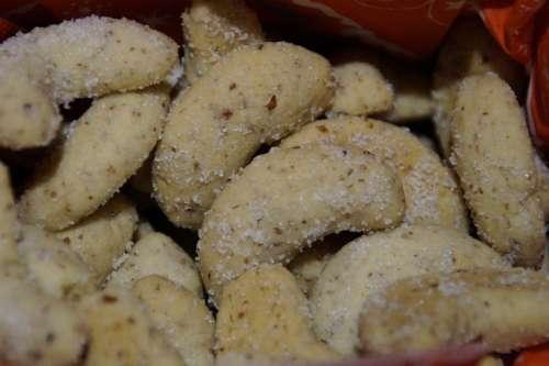 Vanillekipferl Cookie Christmas Cookies Cone Shape