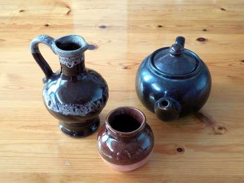Vase Pot Decor Flower Vase Decoration Teapot Deco