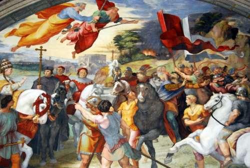 Vatican Fresco Vatican Museums Eleodoro Room