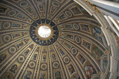 Vatican St Peter'S Basilica Dome