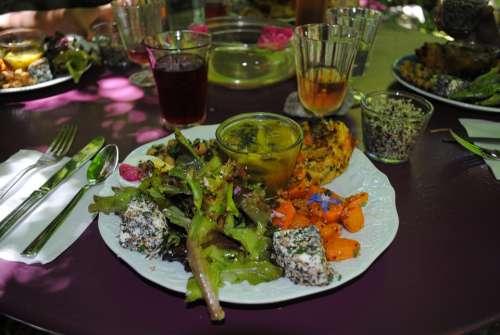 Vegetarian Meal Vegetarian Gourmet Meal