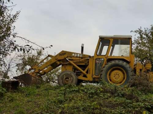 Vehicle Excavators Site Wheel Machine Blade Metal